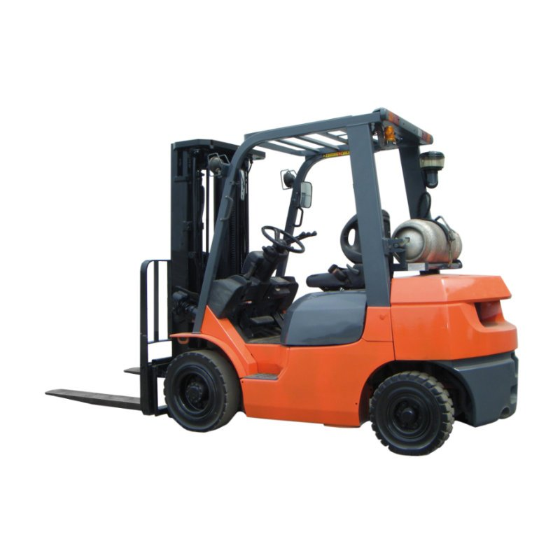 Toyota forklift from rental inventory
