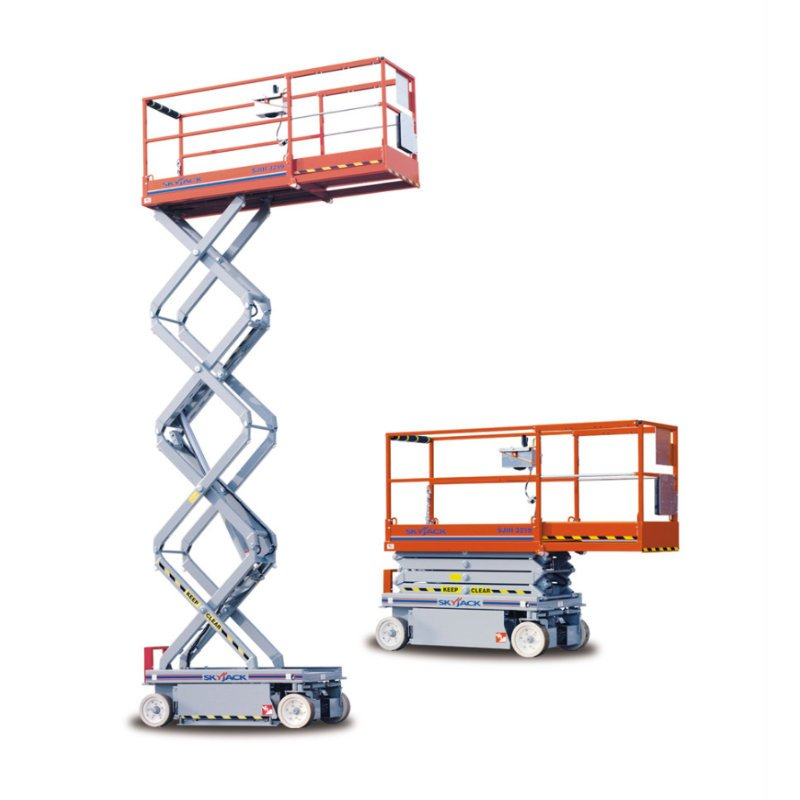 Rental aerial lifts available in variety of makes and models