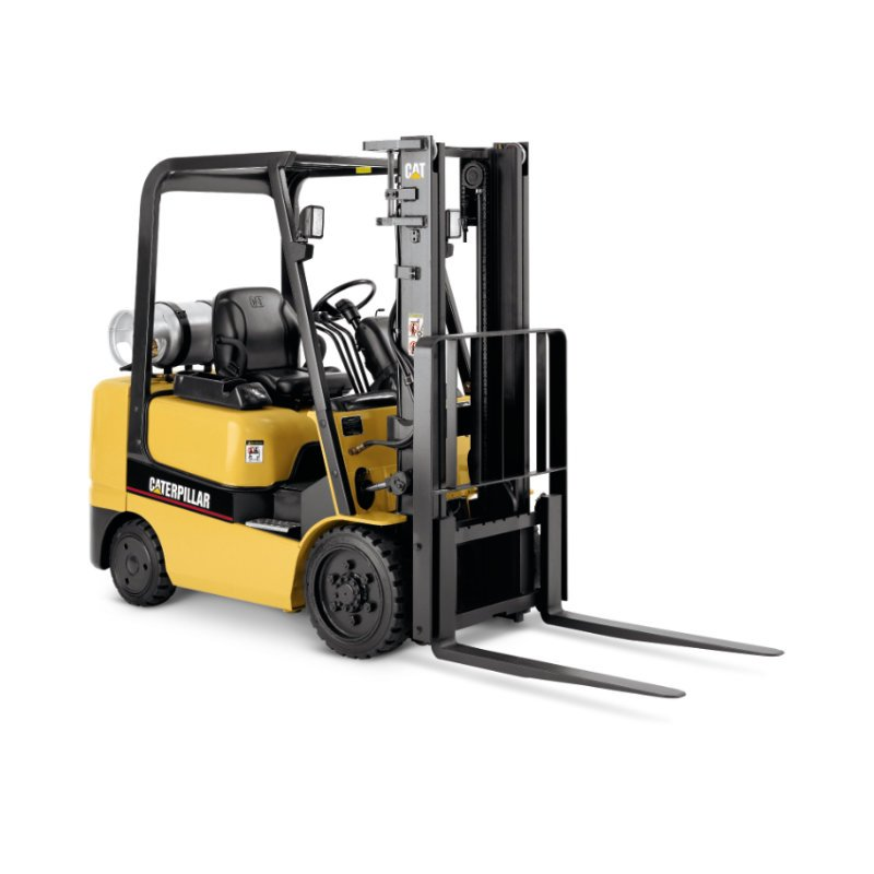 Rental forklifts delivered promptly from Kensar Equipment