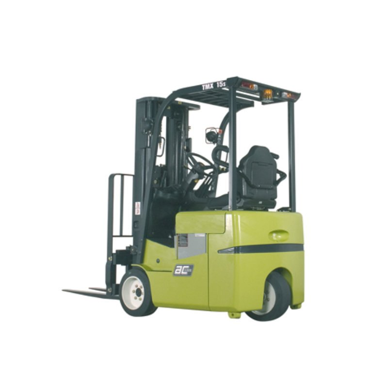 Used Clark 3-wheel electric forklift