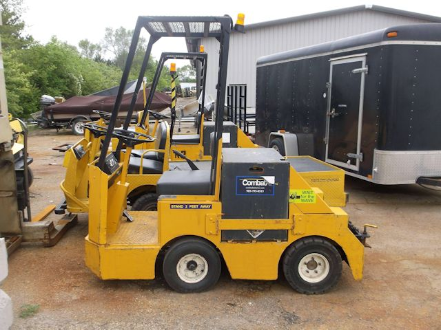 Used Electric Tow Tractor for Sale at Kensar Equipment. Taylor-Dunn C410 from Kensar Equipment