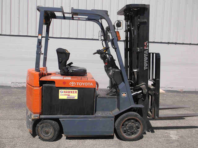 Used Electric Toyota Forklift for Sale in Indianapolis
