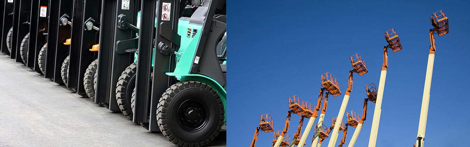 Kensar used forklifts and aerial lifts give you affordable