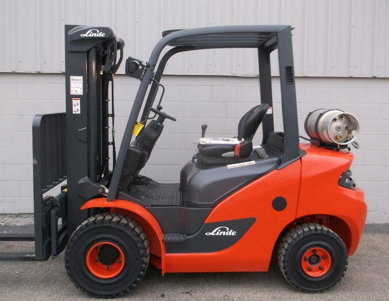 Buy new forklifts at Kensar! We sell brand new Linde and