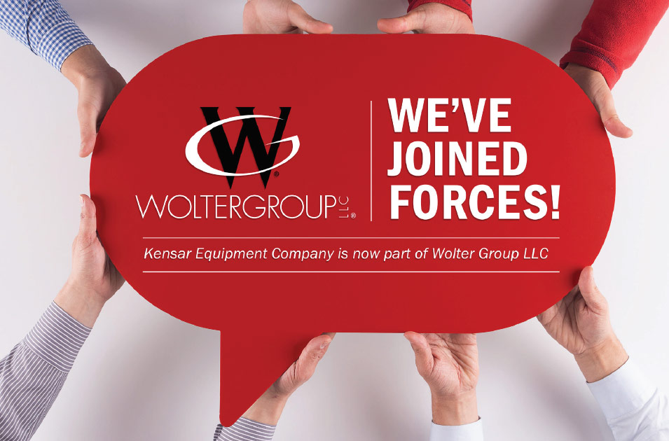 Kensar joins Wolter Group