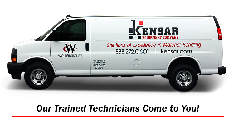 Kensar Equipment Service Van