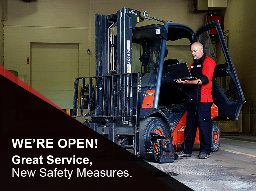 Kensar Equipment is OPEN and ready to serve you with new safety measures in-place for COVID-19.