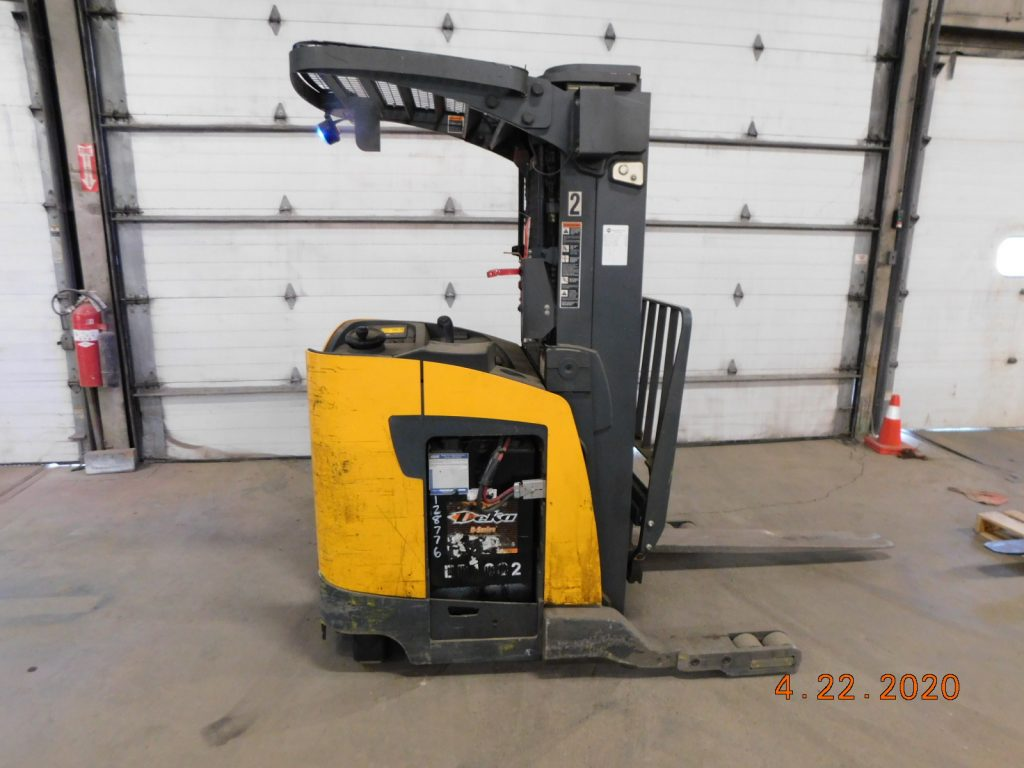 Used Electric Reach Truck for Sale. Kensar Equipment in Indianapolis