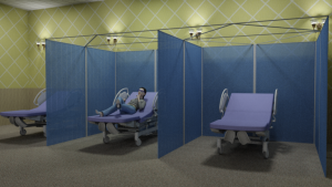 ModTruss Room Partitions for Healthcare