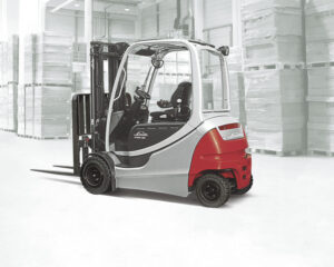 Linde electric forklifts are more efficient and have lower total cost of ownership compared to IC forklifts.