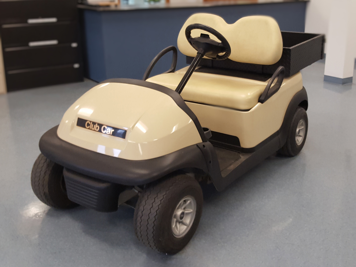Used Club Car for Sale. Electric Personnel Carrier with 2 seats.