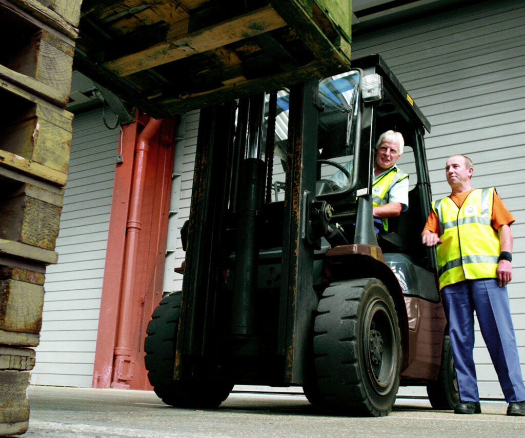 Get certified to safely use a forklift with operator training classes in Indianapolis at Kensar Equipment